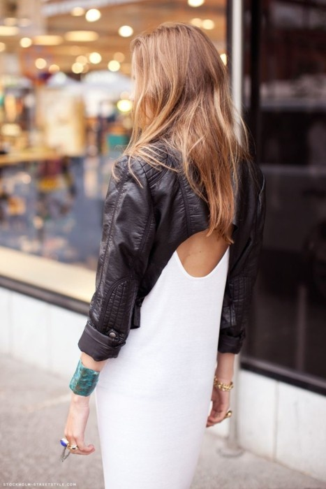 Rocker chic. Love this look.